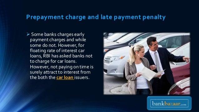 Do Car Loans Have Prepayment Penalty