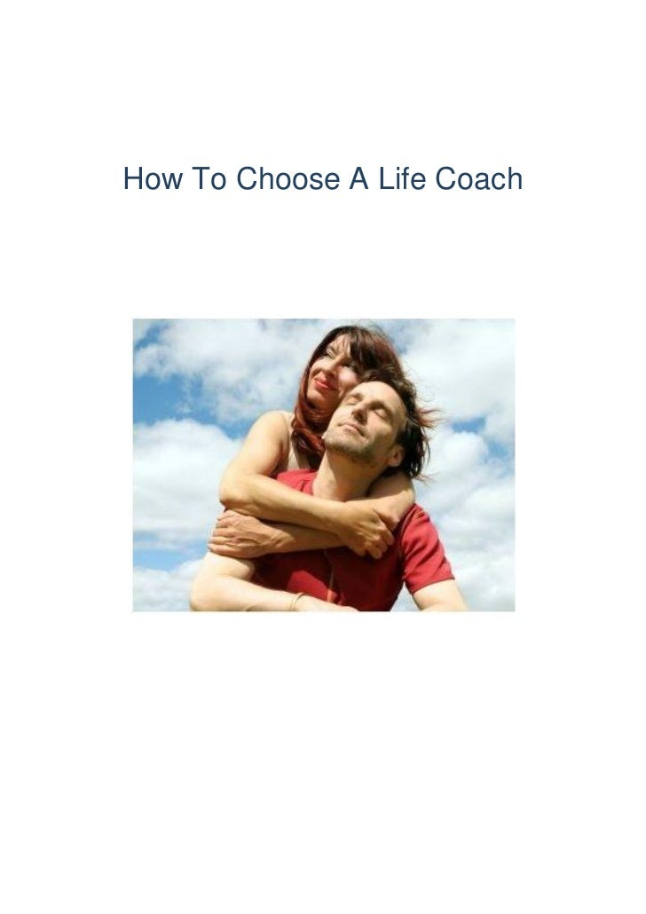 How To Choose A Life Coach
