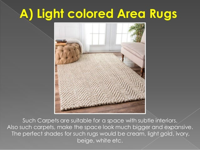 How to choose an area rug color for Choosing a rug color