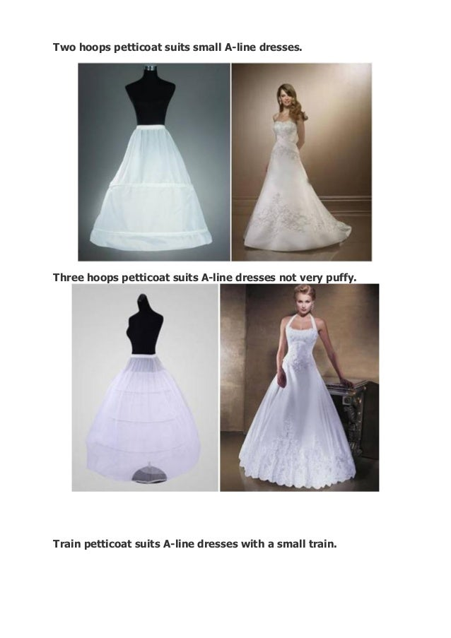 How to choose a petticoat for your wedding dress