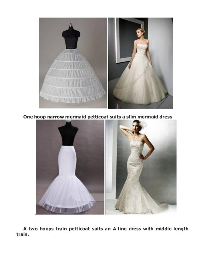 How to choose a petticoat for your wedding dress for How to choose a wedding dress