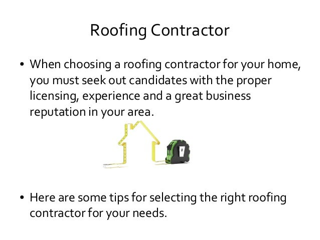 Roofing Contractor ...