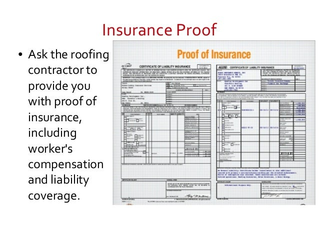 5. Insurance Proof ○ Ask The Roofing Contractor ...