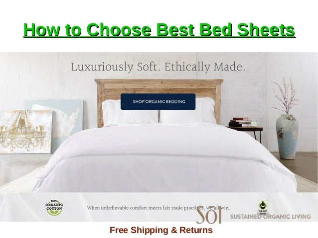 How To Choose Best Bed Sheets Sheets