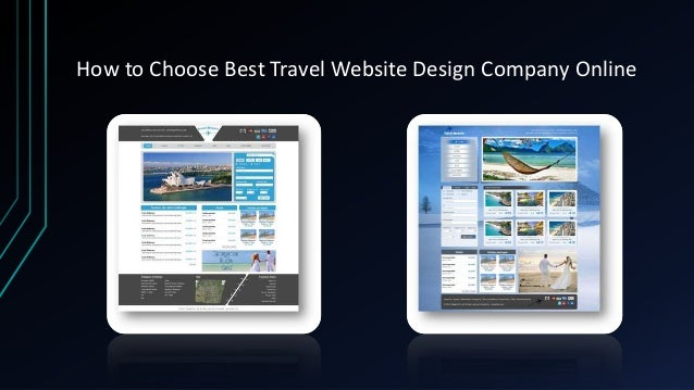 How to choose best travel website design company online Slide 3