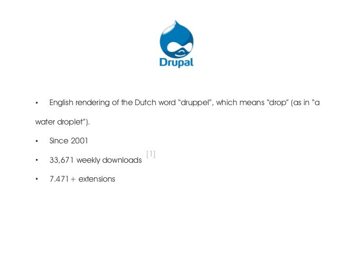 """●    English rendering of the Dutch word """"druppel"""", which means """"drop"""" (as in """"awater droplet"""").●    Since 2001           ..."""
