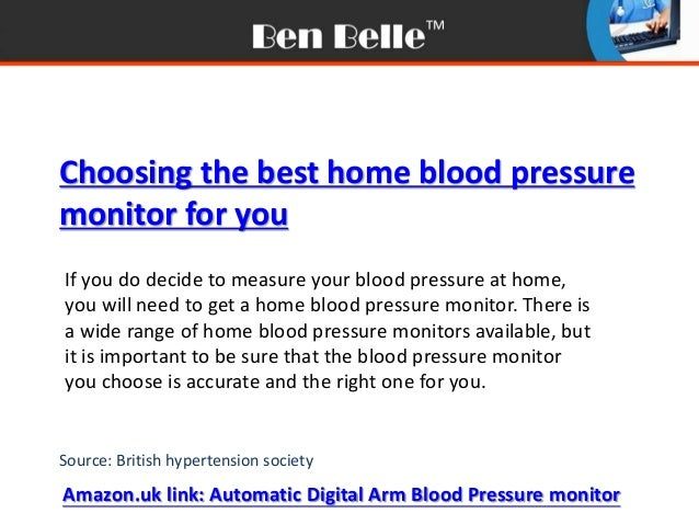 how to use blood pressure cuff at home