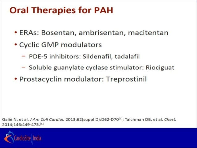 How To Choose Drugs In Pulmonary Arterial Hypertension