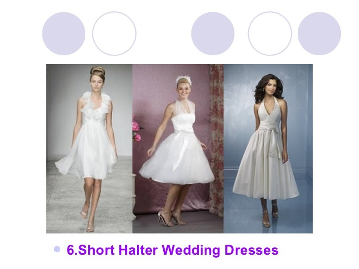 How to choose halter wedding dresses