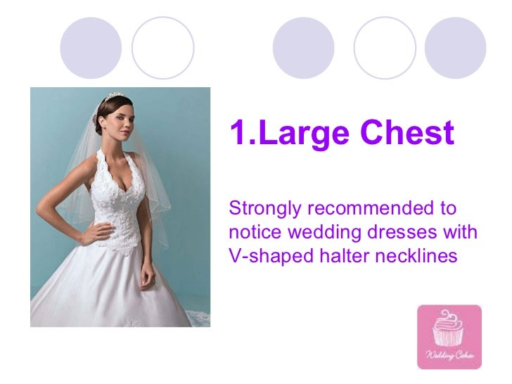 How to choose halter wedding dresses