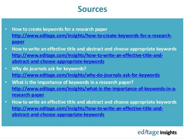 what is keyword in research paper The type of research that will be used in this study is qualitative research and quantitative research qualitative researchers aim to gather an in-depth understanding of human behavior and the reasons that govern such behavior.