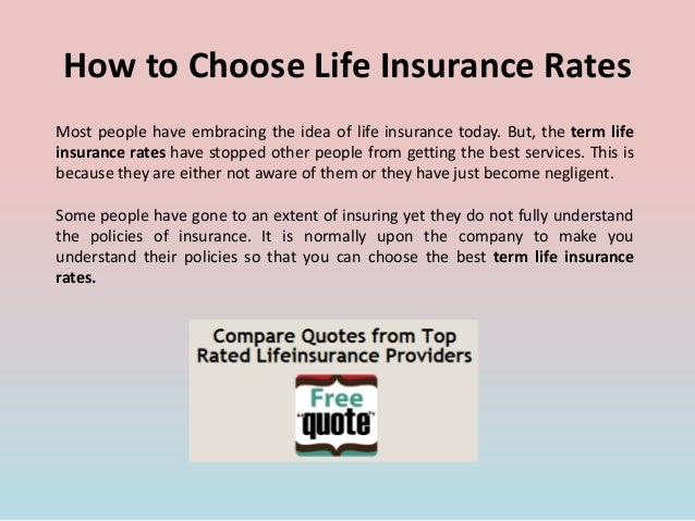 How To Choose Term Life Insurance - Thismylife Ing