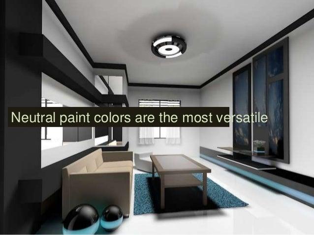 20. Neutral Paint ...