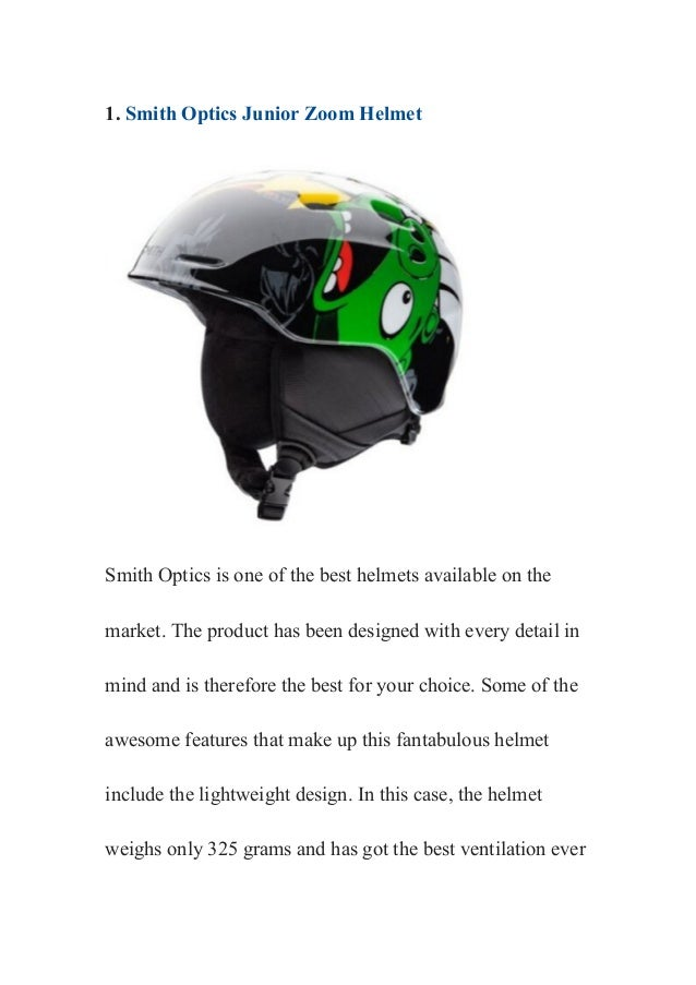 How to choose the best ski helmets