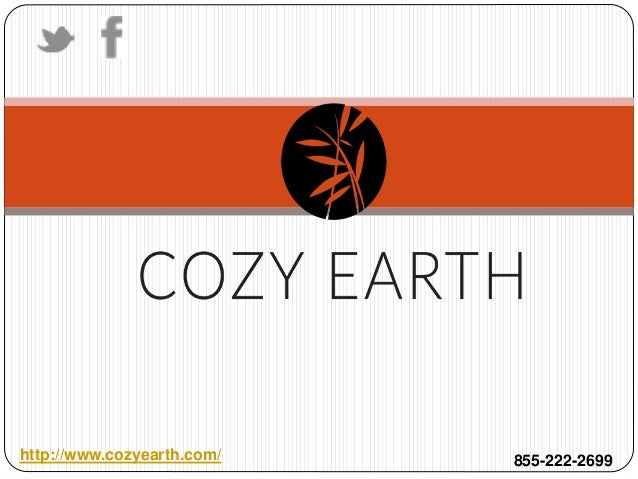 http://www.cozyearth.com/ 855-222-2699