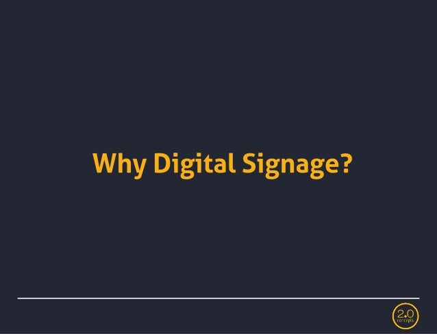How to choose the right digital signage system