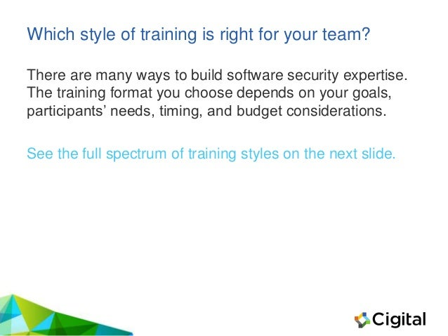 How to Choose the Right Security Training for You