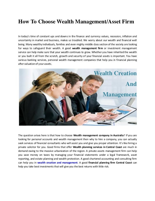 the importance of financial planning and management in firm
