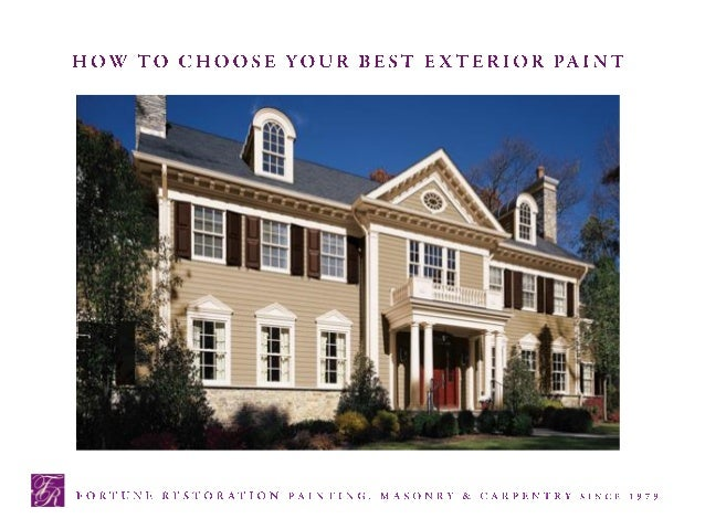 Breakthroughs in paint technology provide a wealth of new exterior paints and stains that are eco-friendly, have low-VOC (...
