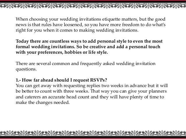 How To Choose Your Wedding Invitations