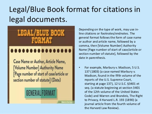 How to cite sources 18 legalblue book format for citations ccuart Image collections