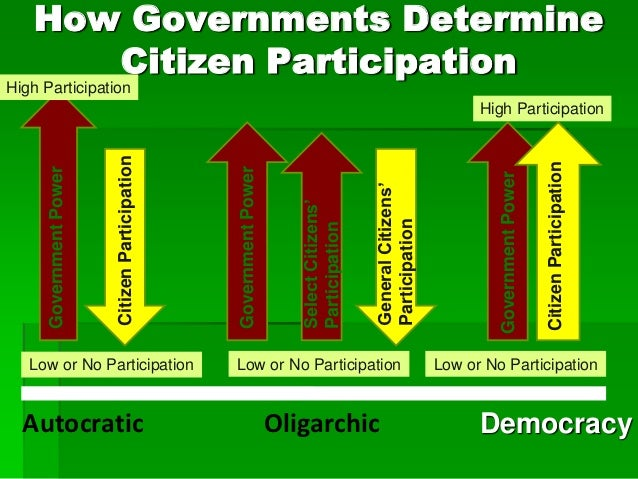 how to citizens participate in government