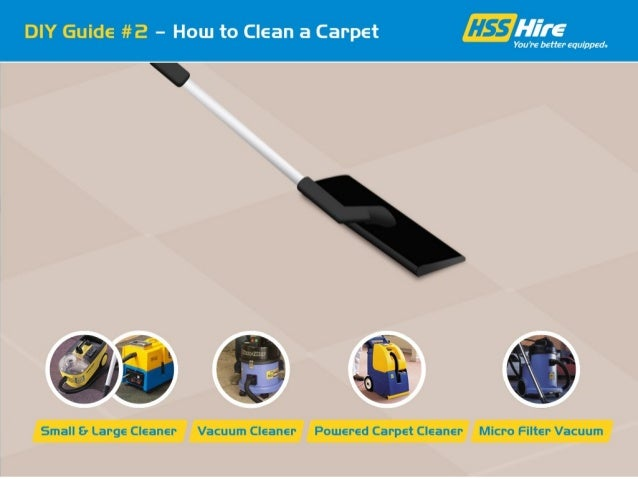 How to Clean a Carpet Using a Vacuum Cleaner