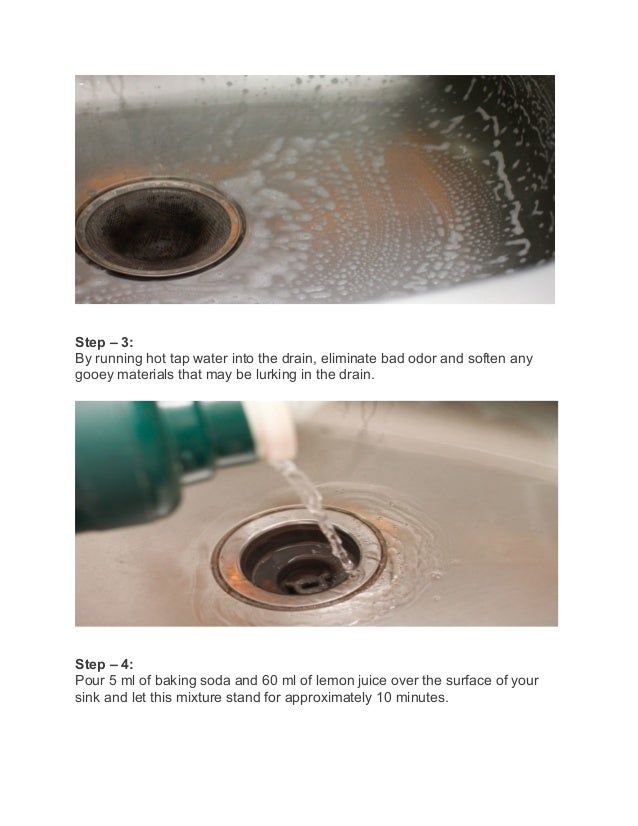 Superior Unclog Kitchen Sink Vinegar Baking Soda #6: 7 Brilliant Ways To Unclog A Drain (Photos)