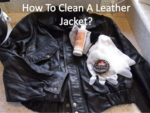how to wash a leather jacket in the washing machine
