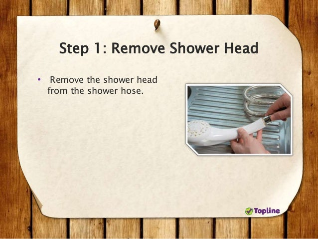 How To Clean A Shower Head In 5 Steps