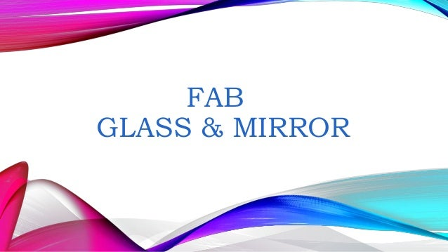 FAB GLASS & MIRROR Glass table top Glass table top