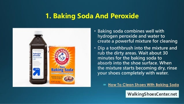 How To Clean Shoes With Baking Soda And Peroxide Vinegar