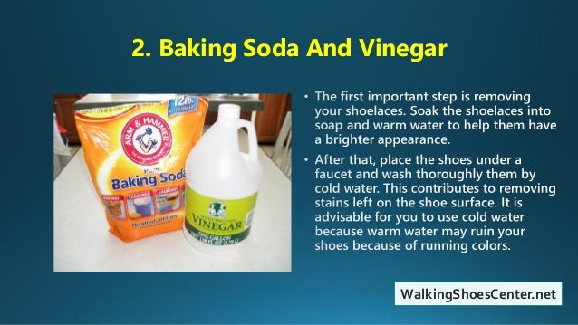 how to put baking soda in shoes