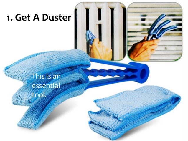 Get A Duster This Is An Essential Tool