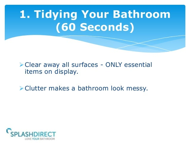 How To Clean Your Bathroom In 6 Minutes