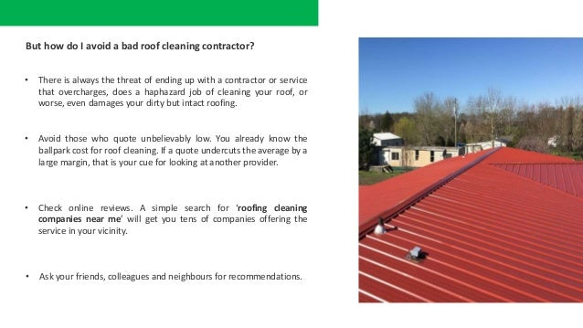 How To Clean Your Roof At An Affordable Cost