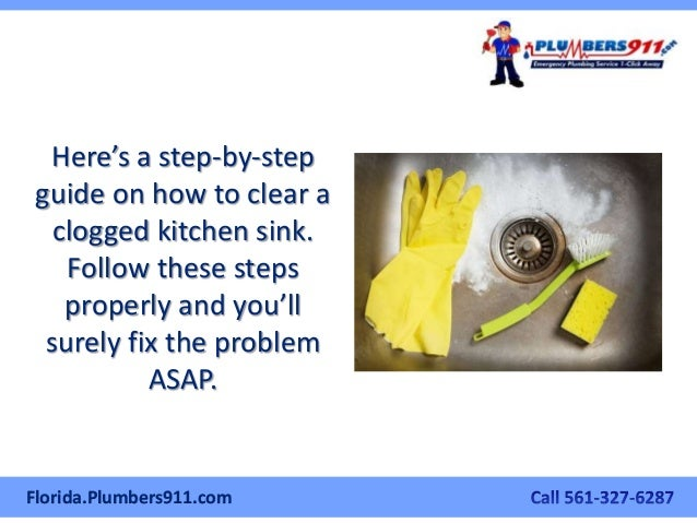 Clogged Kitchen Sink Drain Home Remedy. How To Unclog A Drain Best ...