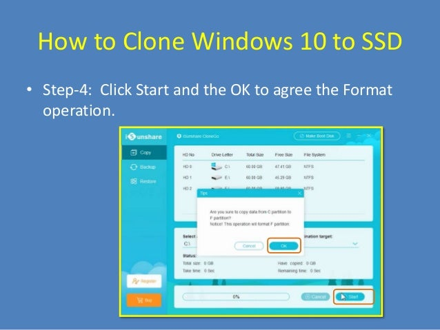 How to Clone Windows 10 System Disk or Partition to SSD
