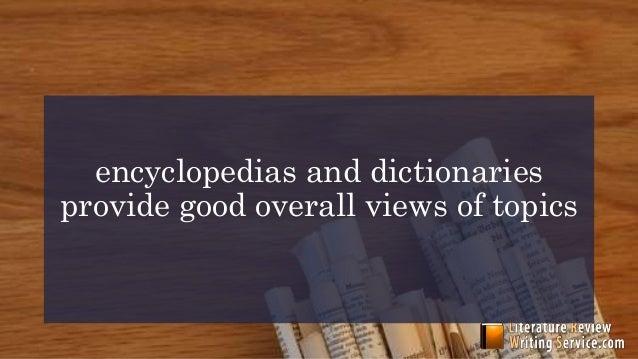 List of Popular Literature Review Topics