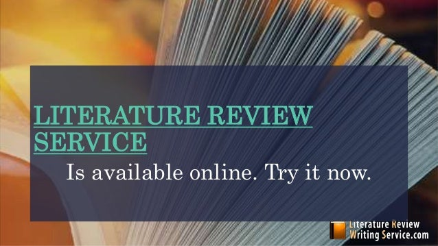 Buy a literature review online