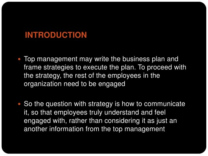 How to communicate business strategy to employees Slide 2