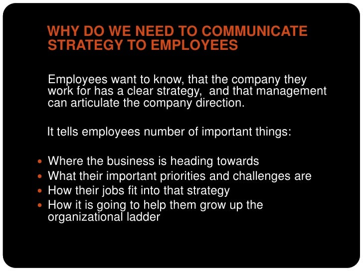 How to communicate business strategy to employees Slide 3
