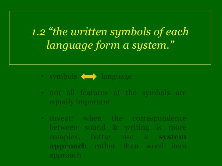 How To Compare 2 Writing Systems