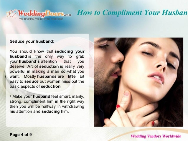 Tips to seduce him