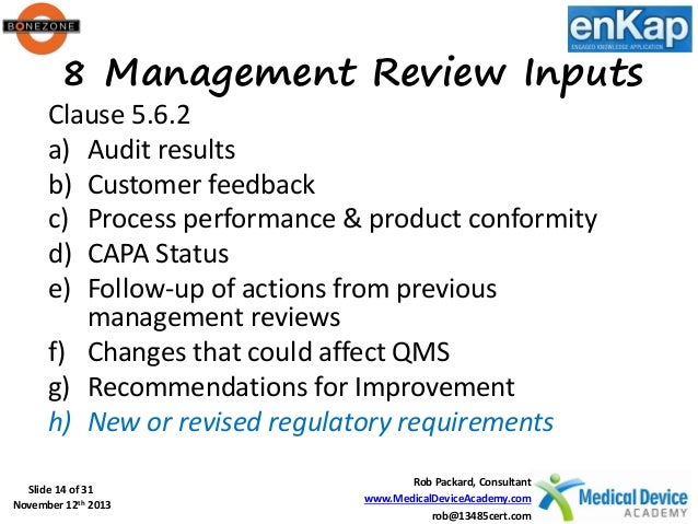 how to conduct a project review