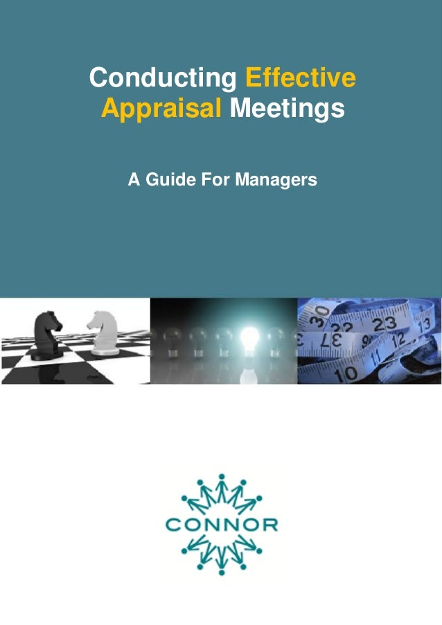 How To Conduct An Effective Appraisal Meeting
