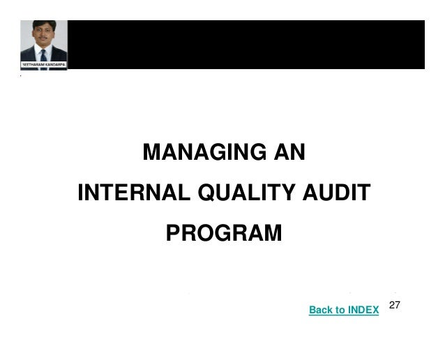 How to conduct an effective internal quality audit?