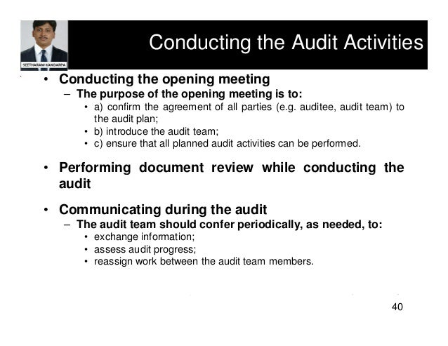 what are problems with conducting an ethics audit Principles outlined in the code of ethics is the auditor's obligation to  the  conduct of auditors should be beyond reproach at all times and  concerning  the selection of issues and areas for audit and the nature, timing.