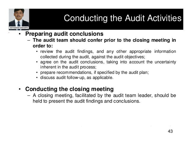 what are problems with conducting an ethics audit The problem is not one of finessing the institutional design or  our evidence on  the politics of the ethical audit regime.