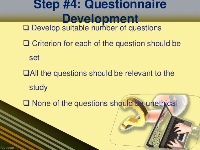 Dissertation questionnaire online dissertation writing in practice